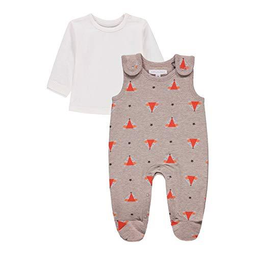 bellybutton Baby-Jungen Set aus Strampler und Langarmshirt Kleinkind-Schlafanzüge, Allover|Multicolored, 62