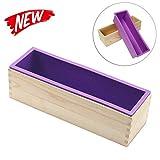 DIY silikonform für seifen,seifenform mit holzbox,seifenform rechteckig,handgemachte seifen...