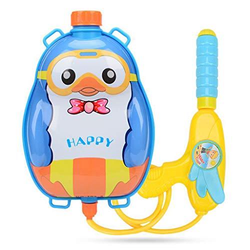 Wasserpistole Water Gun Spielzeug für Kinder Super Soaker Party Water Blaster Strand Sommer Pool Badespielzeug Strandspielzeug Karikatur Tierwasser Wassersprayspielzeug Rucksack (B)