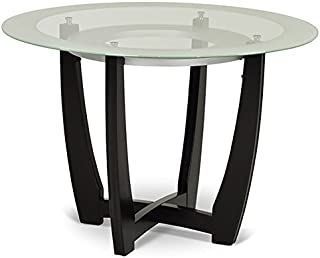 Best 45 inch round glass dining table Reviews