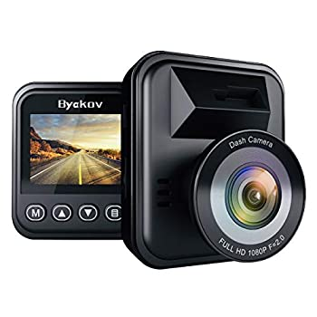 Byakov Dash Cam 1080P Dash Camera for Cars with 170° Wide Angle Car Camera with Night Vision WDR G-Sensor Parking Monitor Loop Recording