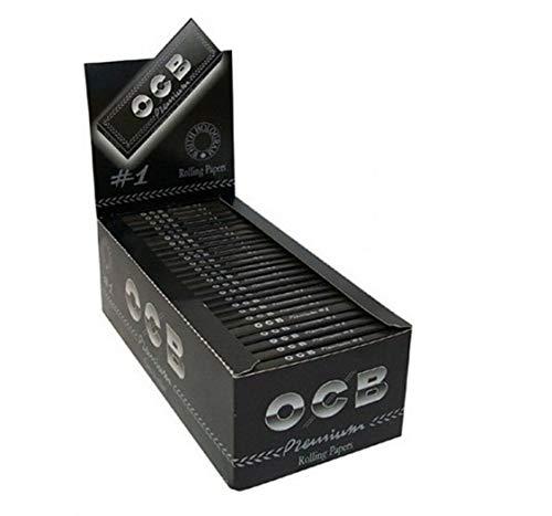 Papel de Fumar OCB Premium - Marca Número 1 - 50 Librillos
