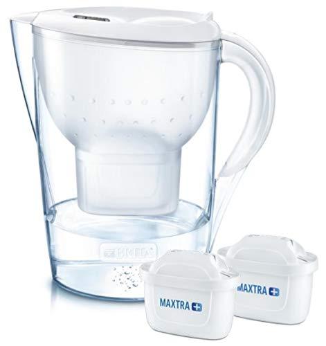 Brita Marella XL Wasserfilter (Wasserfilter für Kanne, weiß, 3,5 l, 2 l, Deutschland, 256 mm)
