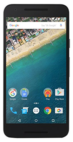 LG Nexus 5X Google Smartphone (13,2 cm (5,2 Zoll) IPS Display, 16 GB, Android 6.0 Marshmallow) Eisblau