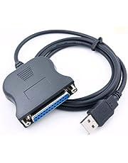 Cable Paralelo USB Hembra de 25 PIN DB25 PC para Impresora Portatil 2251b