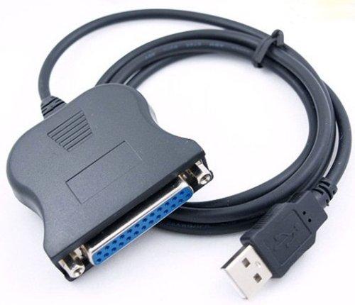 Cable Paralelo USB Hembra de 25 PIN DB25 PC para Impresora P