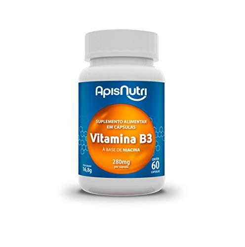 Apisnutri Suplemento de Vitamina B3, 60 Capsulas
