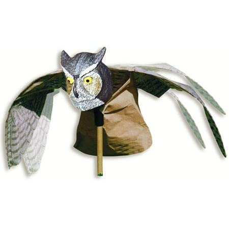 gaixample.org Frofine 2x Defenders Action Owl Decoy Bird Deterrent ...
