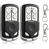 Replacement for Chamberlain 953CB LiftMaster 971LM Sears Craftsman 139.53681 Remote Control - Compatible with Garage Door Opener with Red Orange Learn Button 390MHz 2 Pack