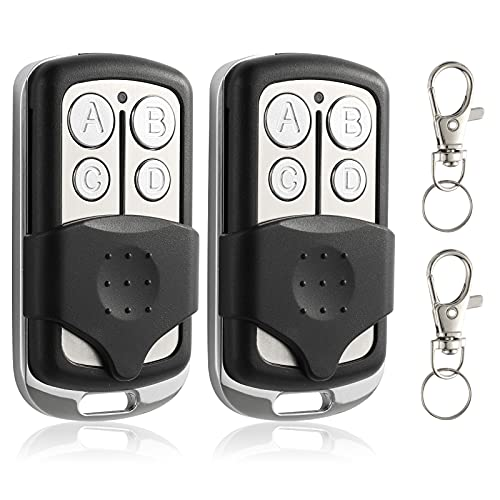 Replacement for Chamberlain 950CD 953CD LiftMaster 371LM 372LM 373LM Sears Craftsman 139.18191 139.53753 Remote Control - Compatible with Garage Door Opener with Purple Learn Button 315MHz 2 Pack