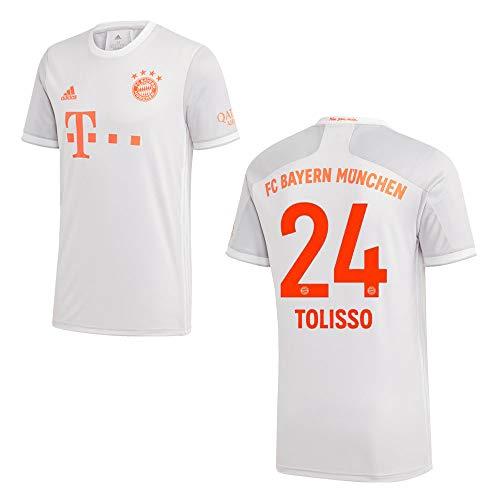 adidas Bayern Trikot Away Herren 2021 - TOLISSO 24, Größe:L