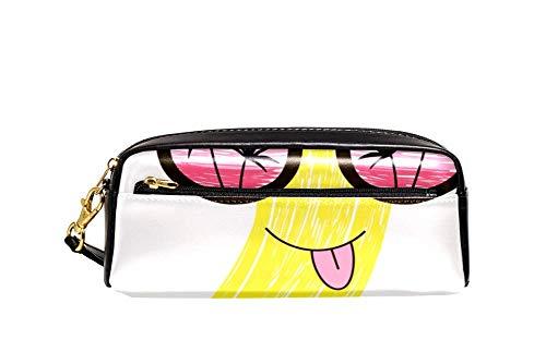 Bennigiry Lustige Bananenfigur in Sonnenbrille, Astuccio per matte di große Kapazität borsa per bamini, Studentum, Borsa per penne, per scuola di viaggio, Piccola Borsa Cosmetica