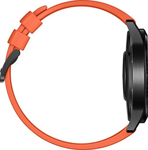 HUAWEI Watch GT 2 Smartwatch (46mm, OLED Touch-Display, Fitness Uhr mit Herzfrequenz-Messung, Musik Wiedergabe & Bluetooth Telefonie, 5ATM wasserdicht) sunset orange - 5