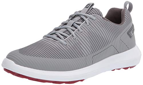 FootJoy Men's FJ Flex XP Golf Shoes, Grey, 10.5 M US