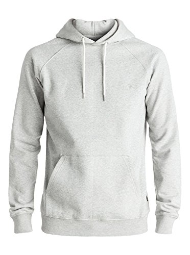 Quiksilver Everyday Sweat-Shirt Homme, Light Grey Heather, FR (Taille Fabricant : XXL)