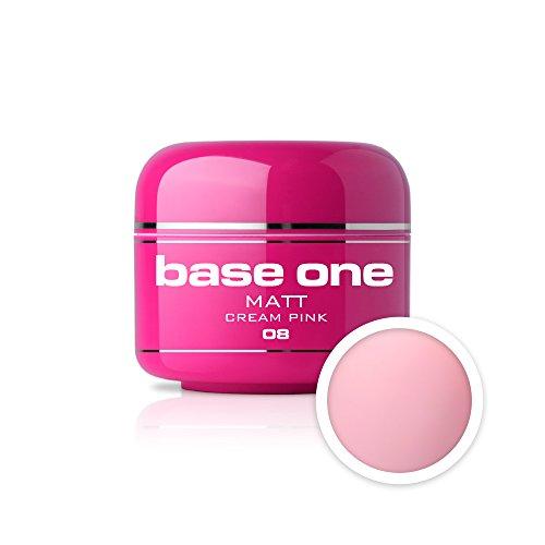 UV Gel de Couleur MAT N°08 Cream Pink 5 ml Gel UV coloré Matt Look