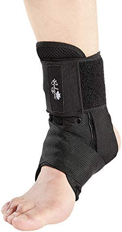 Ankle Brace for Women and Men Lace Up Ankle Support Brace Stabilizer For Sprained Ankle Medium product image