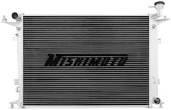 Mishimoto MMRAD-GEN6-10 Hyundai Genesis Coupe 3.8 Performance Aluminum Radiator, 2010-2012, Silver
