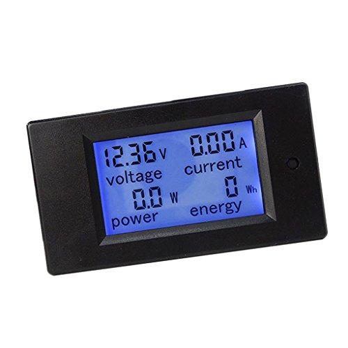 Digital LCD Display DC Multimeter Voltmeter Amperemeter Leistungsmesser Energiezähler