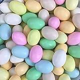 Ovette Confettate Colorate - Ovetti di Pasqua Ripieni di Morbido Cioccolato kg 2 - Boccia
