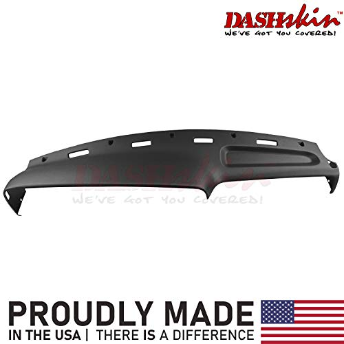 DashSkin Molded Dash Cover Compatible with 94-97 Dodge Ram in Black (USA Made)