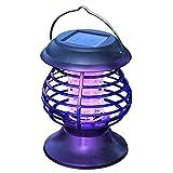 funfunfly 2021 Lámpara Repelente de Mosquitos, lámpara antimosquitos, energía Solar, portátil, mosquitera eléctrica Mosquito Killer Lámparas Solares Insecto