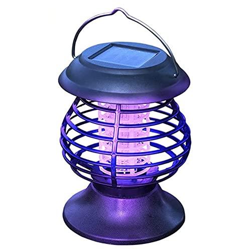 funfunfly 2021 Répulsif Anti-moustiques Lampe Anti-moustiques Ampoule alimentée énergie Solaire Portable moustiquaire électrique Mosquito Killer Lampes solaires Insectes