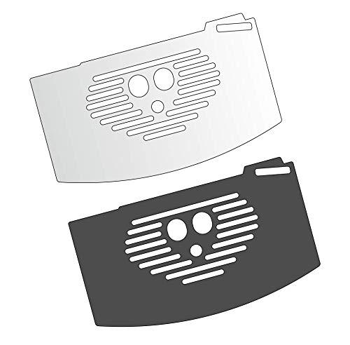 3 x Schutzfolie für DeLonghi Magnifica Esam 02.110 – 03.105 – 03.110 – 03.120 04.110 – 04.120 – 04.320 – 04.350 Abtropfblech - Tassenablage - Abstellblech