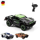 Aandyou Ferngesteuertes Auto, 2,4Hz RC-Auto 4WD Elektronischer Geländewagen,Funkgesteuertes Auto Monster Truck Off-Road-Auto