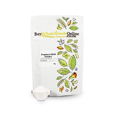 Buy Whole Foods Online Premium MSM Powder 1 Kg from Buy Whole Foods Online Ltd.