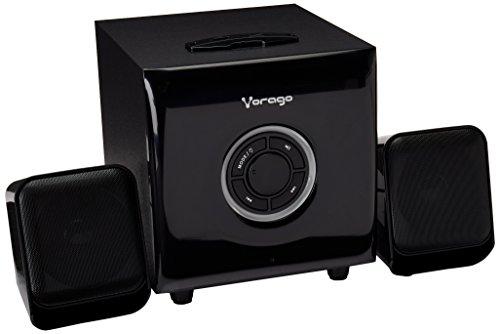 Vorago SPK-300 2.1channels Negro Juego de Altavoz – Set de Altavoces (2.1 Canales, Universal, Negro,…