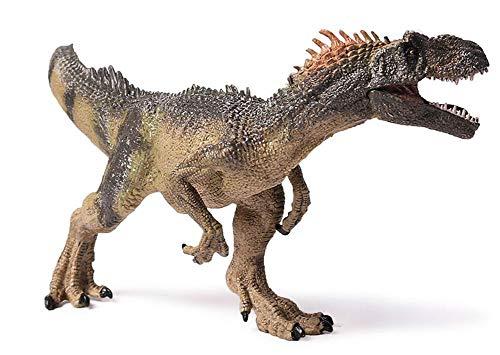 MIAOGE Juguete Modelo Dinosaurio 25cm / 10inch Jurassic World Park Allosaurus Dinosaur Model Toys Animal Plastic PVC Acción Figura Juguete para Niños Regalos
