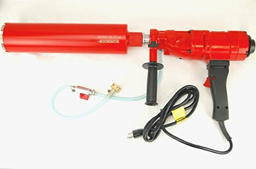 CORE DRILL 4' Z-1 2 SPEED CONCRETE CORING DRILL by BLUEROCK TOOLS PACKAGE DEAL COMES WITH 1', 2', 3', 4' BITS