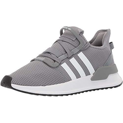 adidas Unisex U_Path Run J Sneaker, Grau (Grey/Footwear White/Core Black 0), 38 2/3 EU