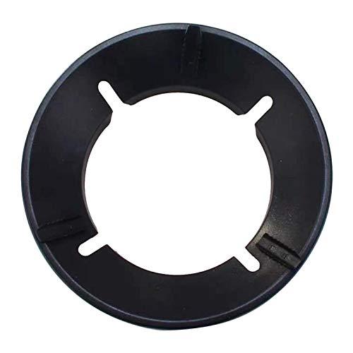 Amusingtao Soporte para estufa de gas, estufa de gas, anillo de soporte para wok, para estufas de gas, de acero inoxidable, ahorro de energía, a prueba de viento, soporte para wok de fuego