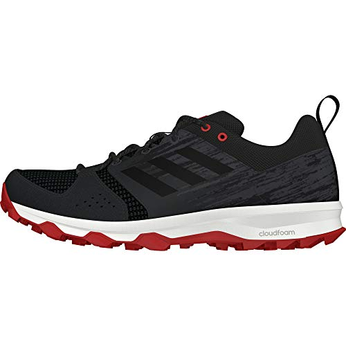 adidas Galaxy Trail, Zapatillas de Running Hombre, Negro (Core Black/Core Black/Carbon S18), 48 EU