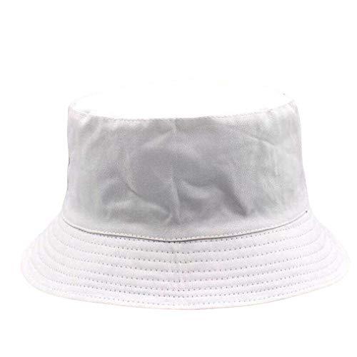 Bucket Hats Mujeres Color Sólido Doble Cara Simple Todo a juego Estilo Japonés Elegante Señoras Sombrero Mujer Verano Moda Sombrero