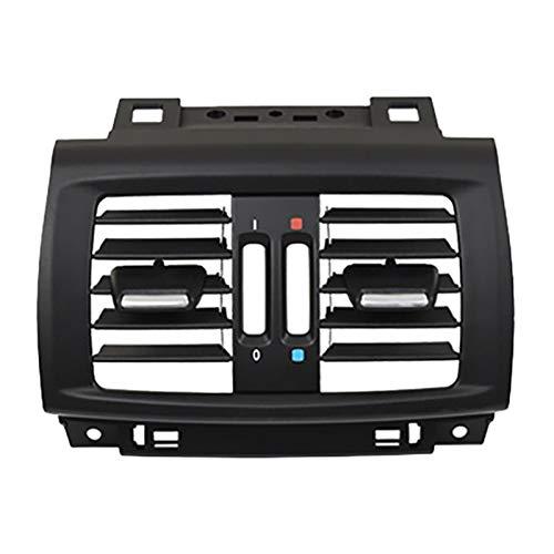 Danghe Coche Fila Trasera A/C Aire Acondicionado Aire Acondicionado Grille Cubierta De Recorte De Recorte De Recorte De Recorte para BMW X3 X4 F25 F26 2011-2017 (Color : Black)