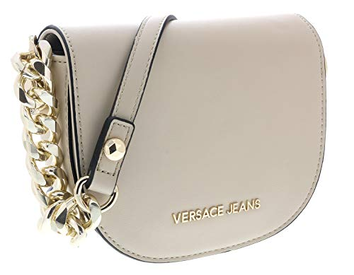 Versace Linen Beige Shoulder Bag-EE1VTBB14 E723 for Womens
