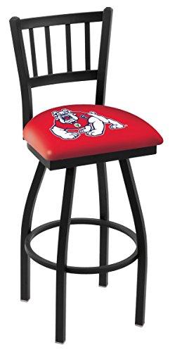 "Fresno State Bulldogs HBS Jail Back High Top Swivel Bar Stool Seat Chair (30"") image"