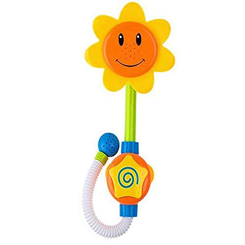 Buy Bargain LXB Baby Funny Water Game Bath Toy, Bathing Tub Sunflower Shower Faucet Spray Water Spou...