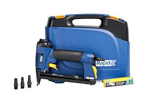 Rapid Drucklufttacker PS111, Druckluft Tacker für Holz und Folien, Leicht, Kompakt und Handlich, für Klammern Typ 53, 6-16mm