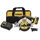 DEWALT 20V MAX Circular Saw, 6-1/2-Inch, Cordless Kit (DCS565P1)