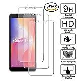 guran [3 pezzi] pellicola protettiva per xiaomi redmi 6 / redmi 6a smartphone ultra sottile screen protector in vetro temperato film ultra resistente