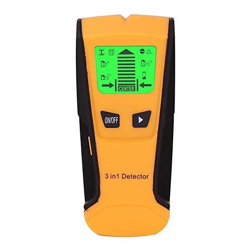 Detector de Pared Detectar Escáner de Pared Encontrar 3 en 1 Pantalla...