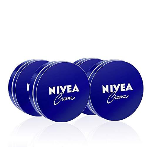 NIVEA Crema hidratante de manos, cara y cuerpo para piel sua