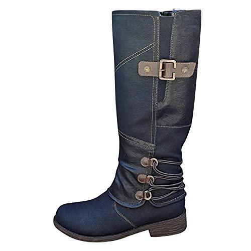 damen ankle boots blaue stiefeletten gefütteete gummistiefel gummistiefel damen gefuettert und...
