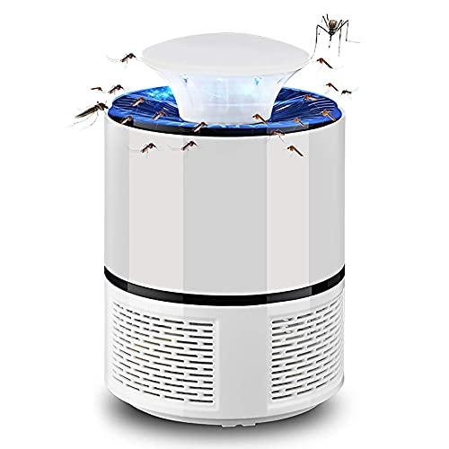 Pineocus Trampa de mosquitos LED eléctrica antimosquitos lámpara con luz LED UV USB portátil Camping Fly Killer trampa de insectos para cocina dormitorio interior y exterior no tóxico sin radiación
