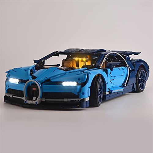 Conjunto De Luces Para Led Lego Technic Bugatti Chiron, Compatible Con El Modelo De Bloques De ConstruccióN De Juguetes Lego 42083 (No Incluido El Modelo)