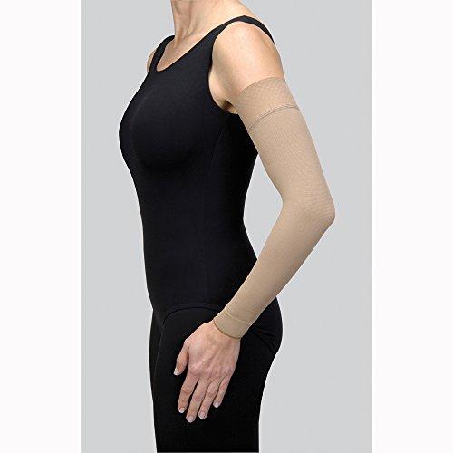 Jobst Bella fuerte Armsleeve de linfedema W/Banda de silicona–30–40mmHg, 7, Natural, 1